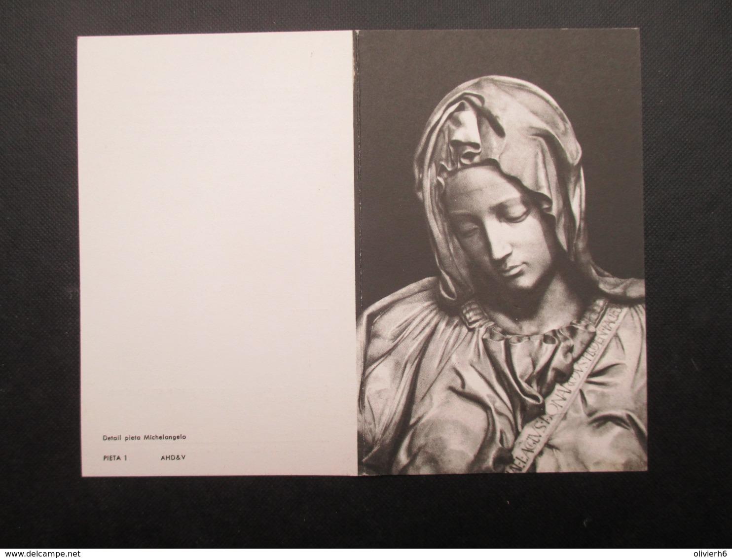 VP BELGIQUE (M1902) DOODSPRENTJE (2 Vues) JOANNA LEONIE COREMANS * LEEST 26/01/1891 - WILLEBROEK 9/9/1970 - Todesanzeige