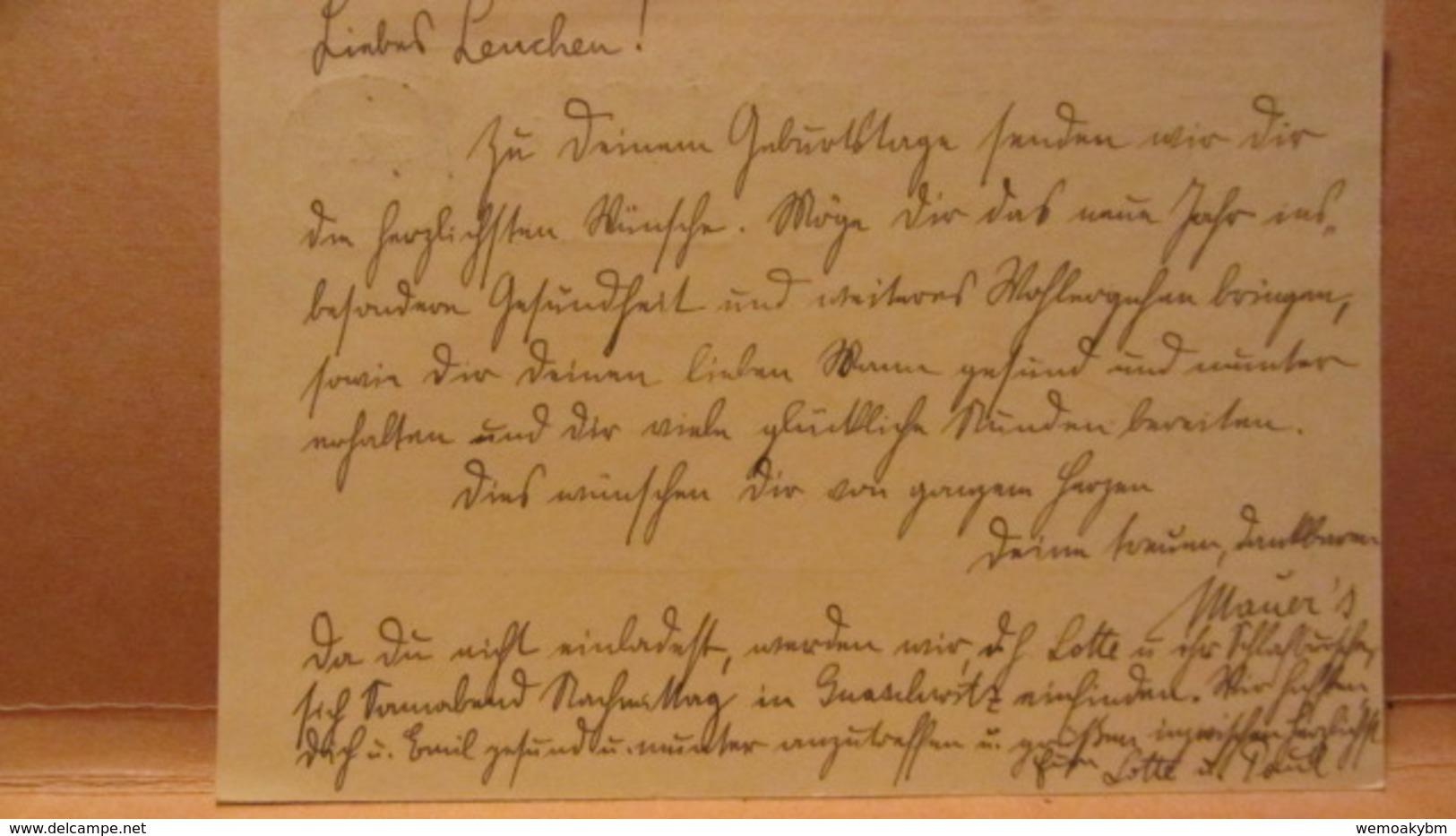 DR: GA P 213 1932 - 1932  J. W. Von Goethe, MWSt. Bautzen 18.3.32 Winterhilfe Nach Gnaschwitz - Briefe U. Dokumente