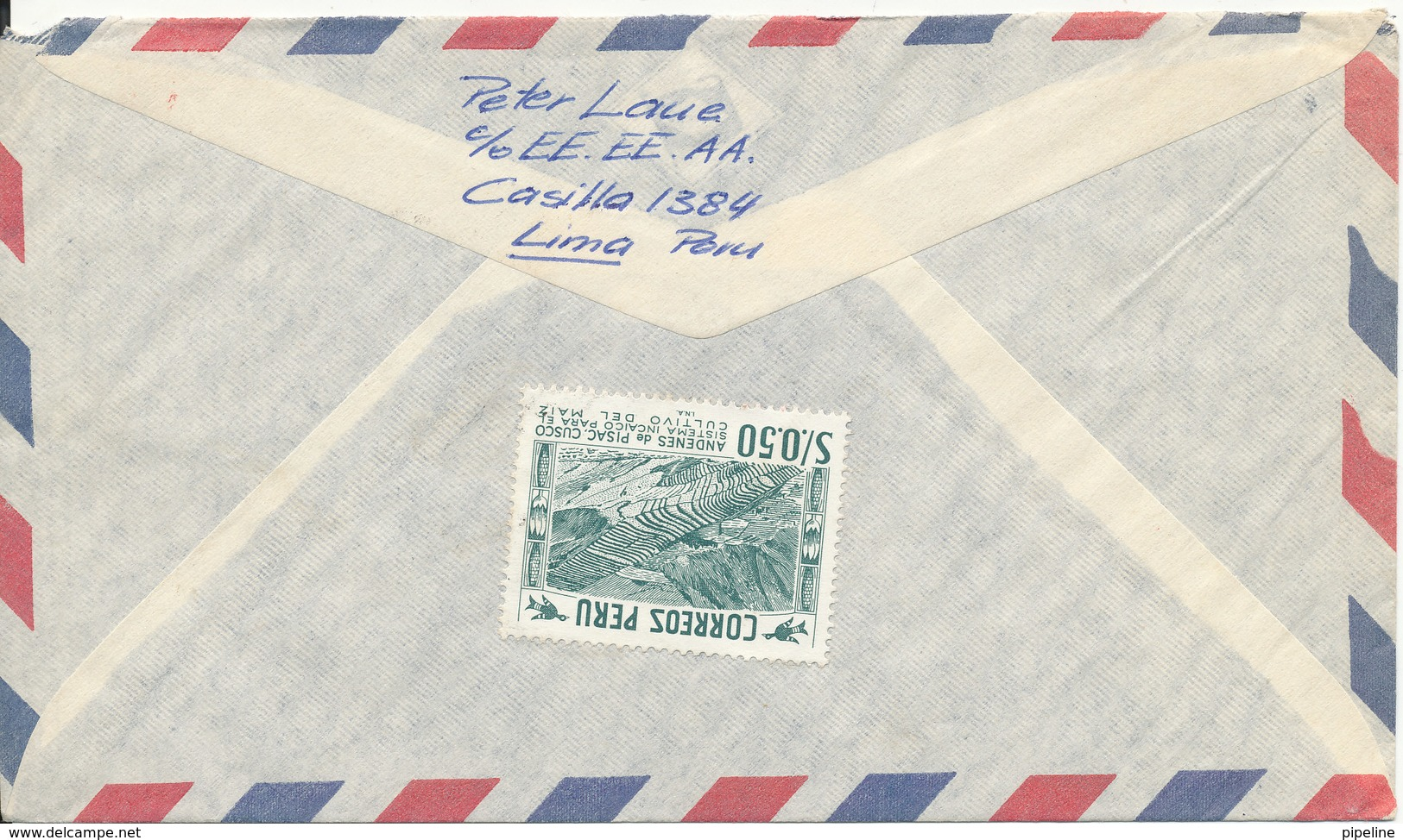 Peru Air Mail Cover Sent To Switzerland 1970 With A Lot Of Topic Stamps - Peru