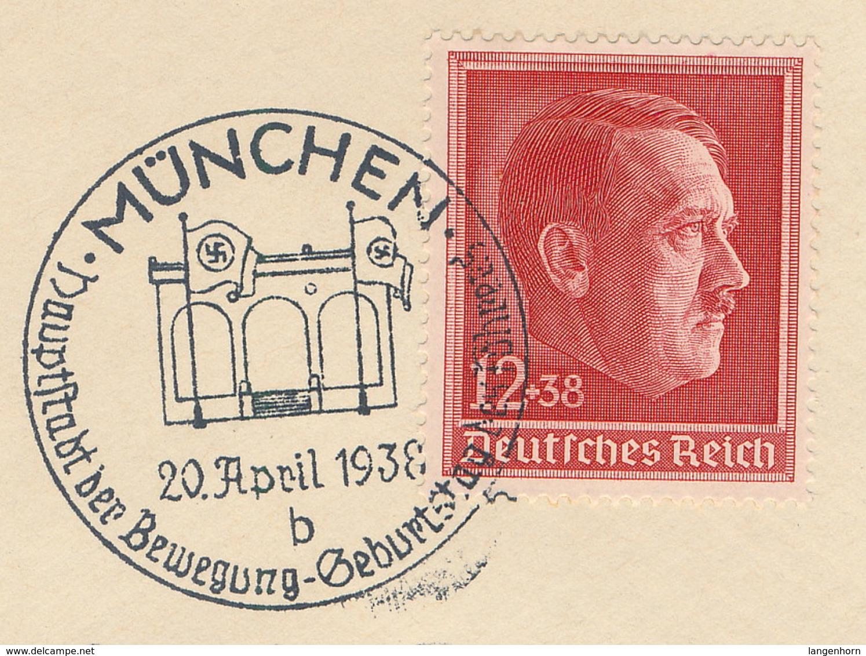 D. Reich - 2 Belege Mit Sonderstempeln - Deutschland