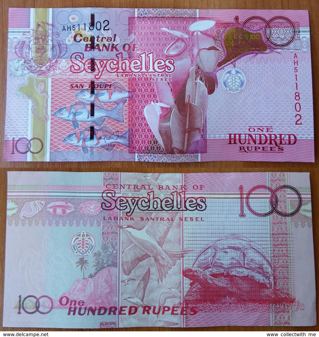 Seychelles 100 Rupees 2011 аUNC - Seychellen