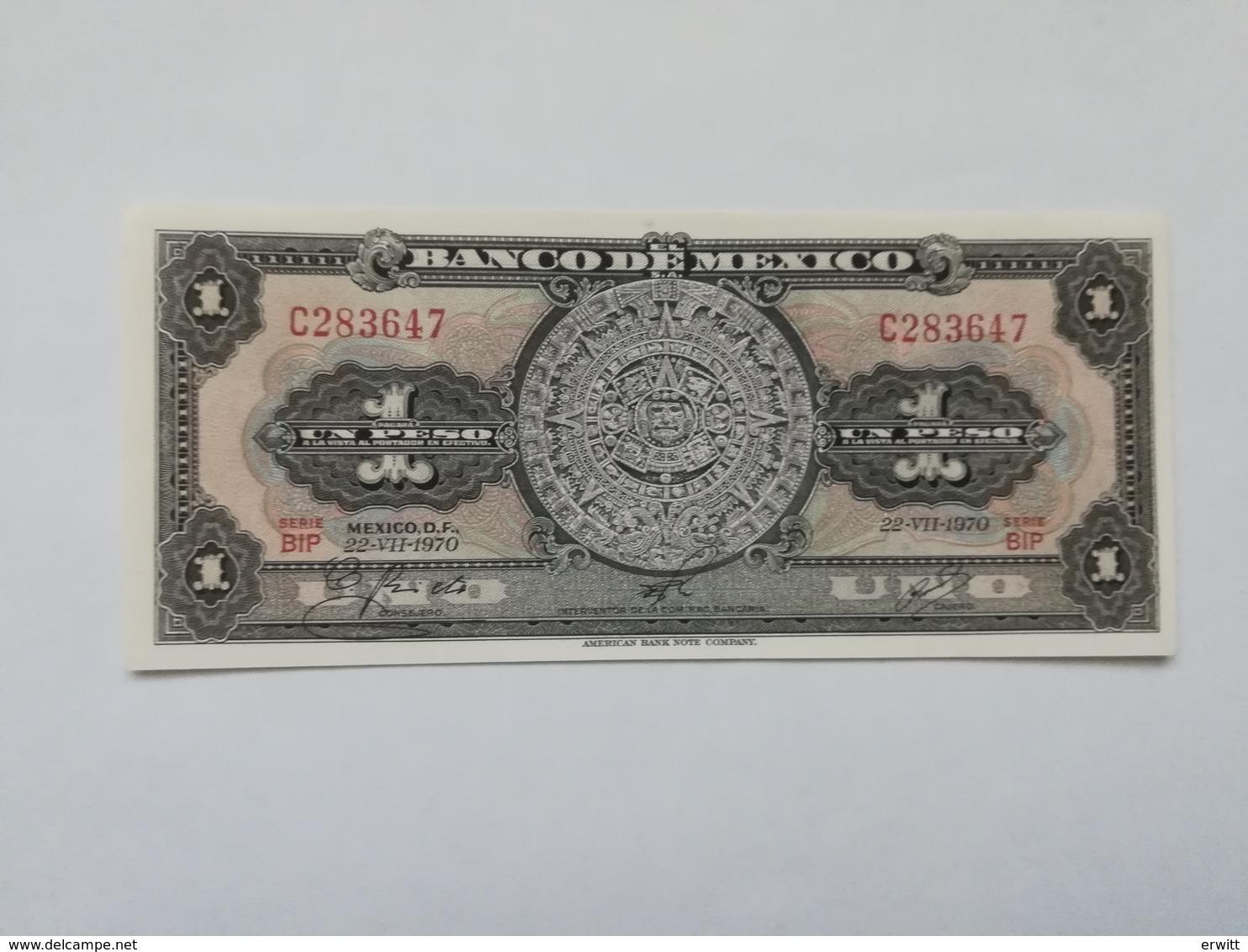 MESSICO 1 PESO 1970 - Mexique