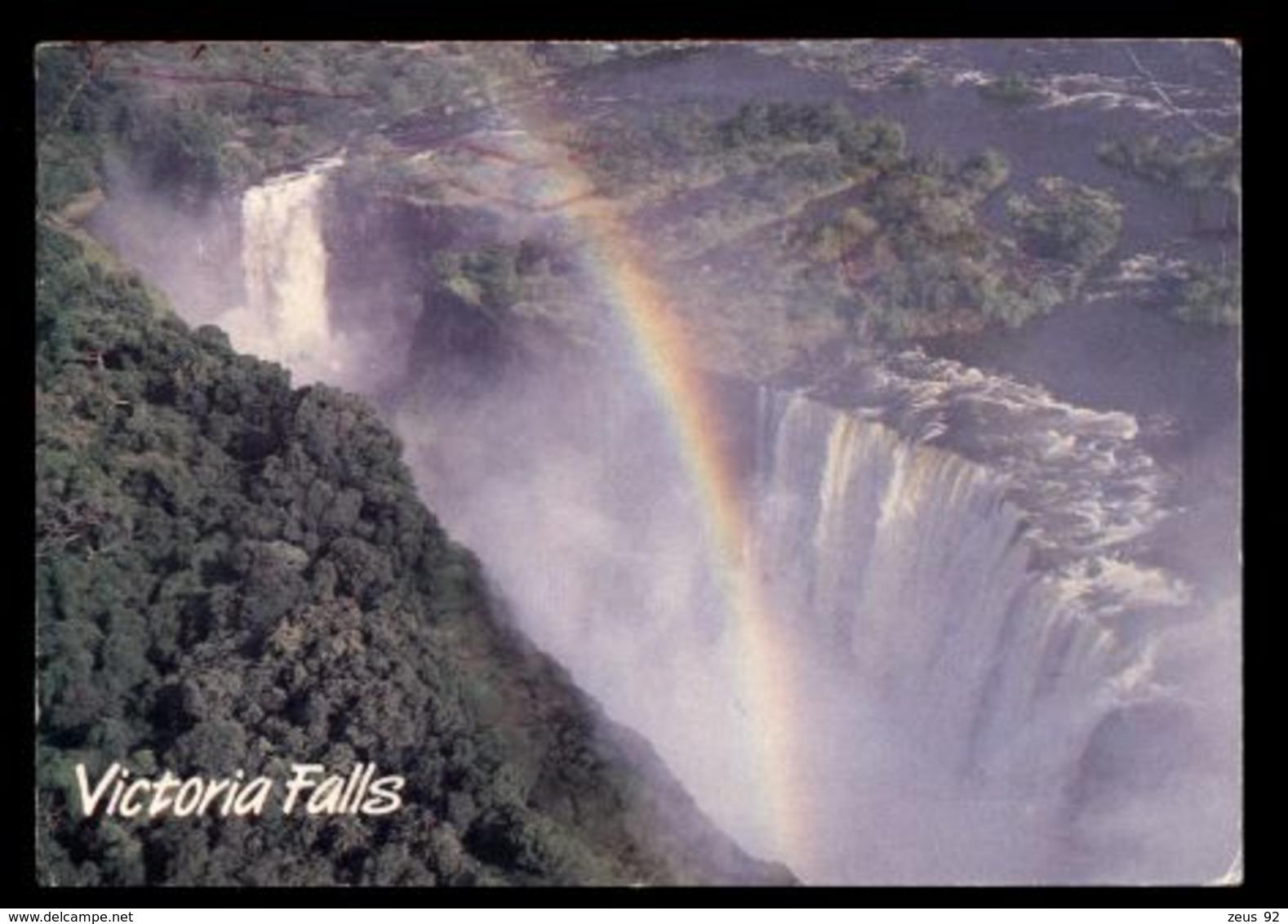 C330 ZIMBABWE - VICOTRIA FALLS WITH RAINBOW - Zimbabwe