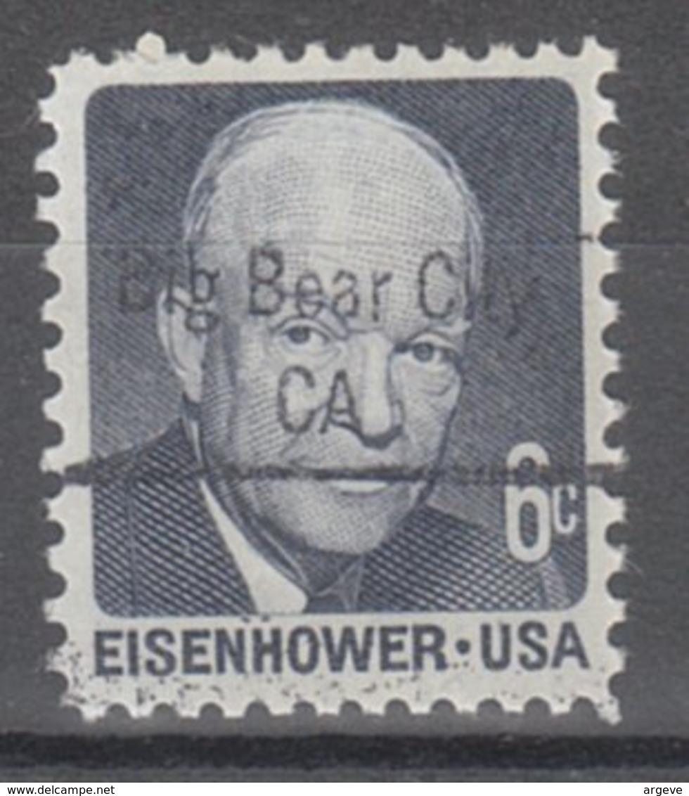 USA Precancel Vorausentwertung Preo, Locals California, Big Dear City 843 - Etats-Unis