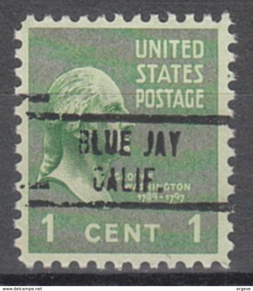 USA Precancel Vorausentwertung Preo, Locals California, Blue Jay 748 - Etats-Unis
