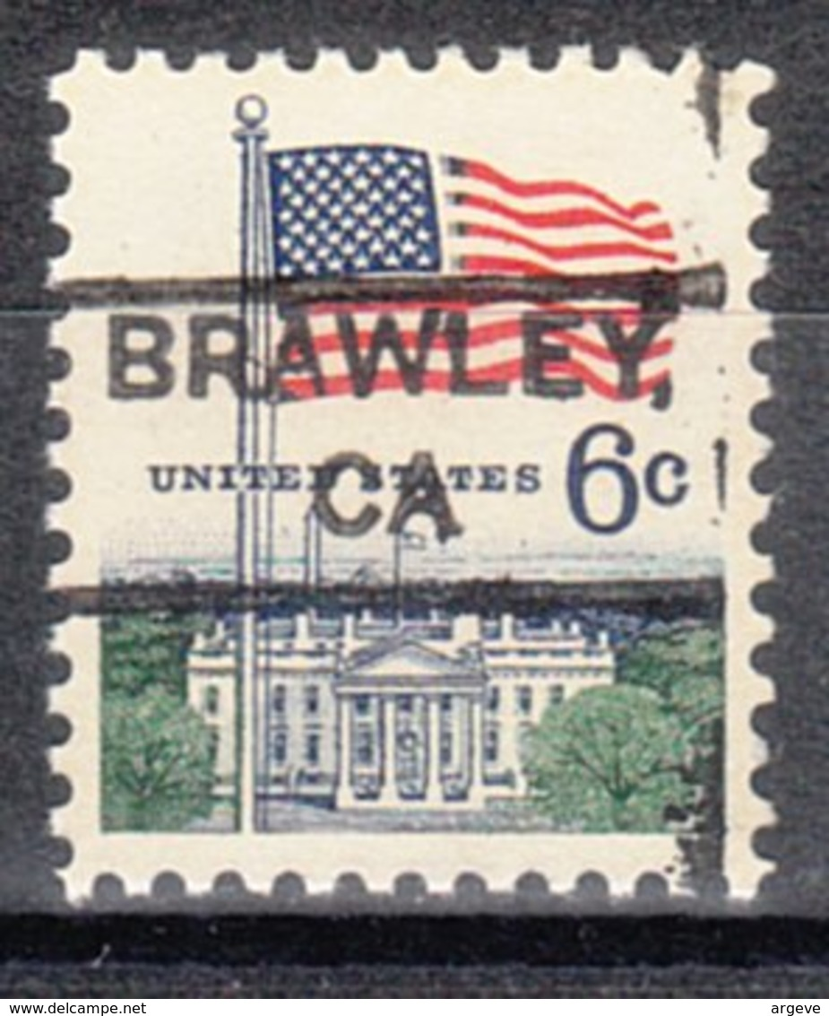 USA Precancel Vorausentwertung Preo, Locals California, Brawley 852 - Etats-Unis