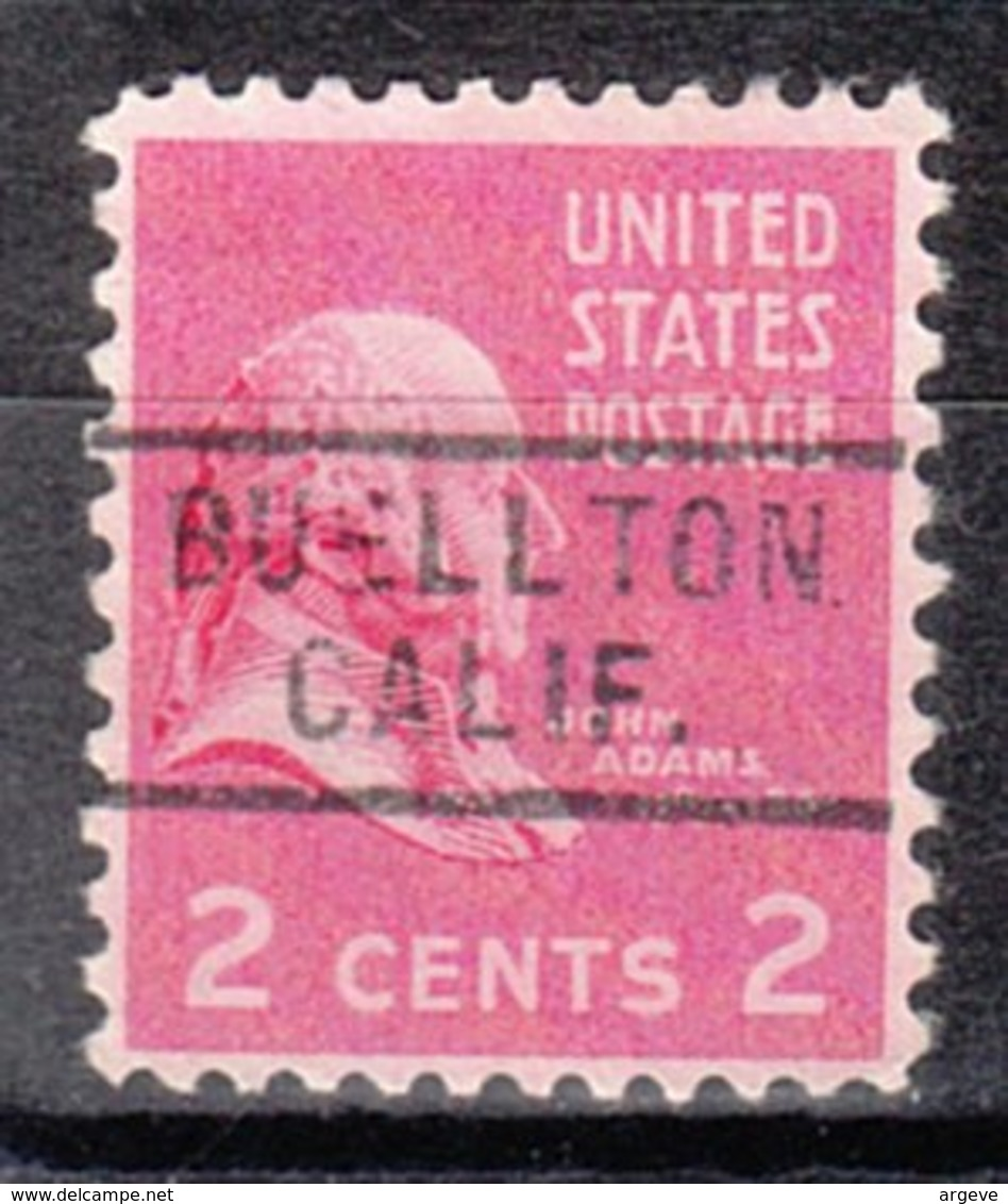 USA Precancel Vorausentwertung Preo, Locals California, Buellton 729 - Etats-Unis