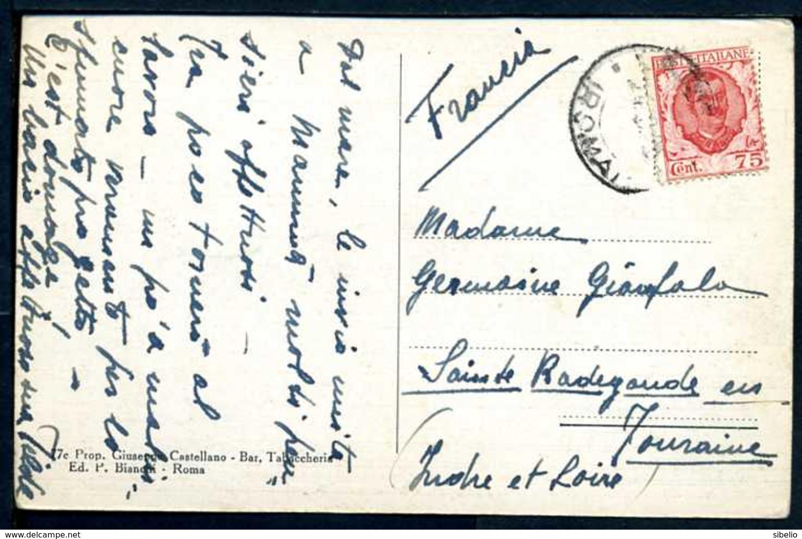 Ladispoli - Stabilimento Dispari - Viaggiata 1928 - Rif. 16165 - Italia
