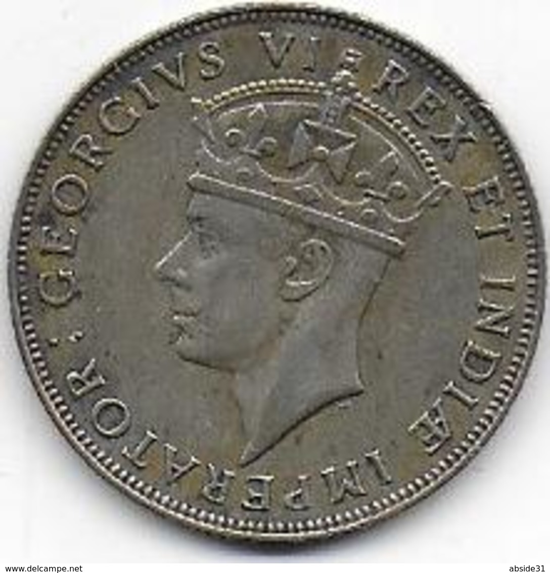 EAST AFRICA - 1 Shilling  1942 - Colonie Britannique
