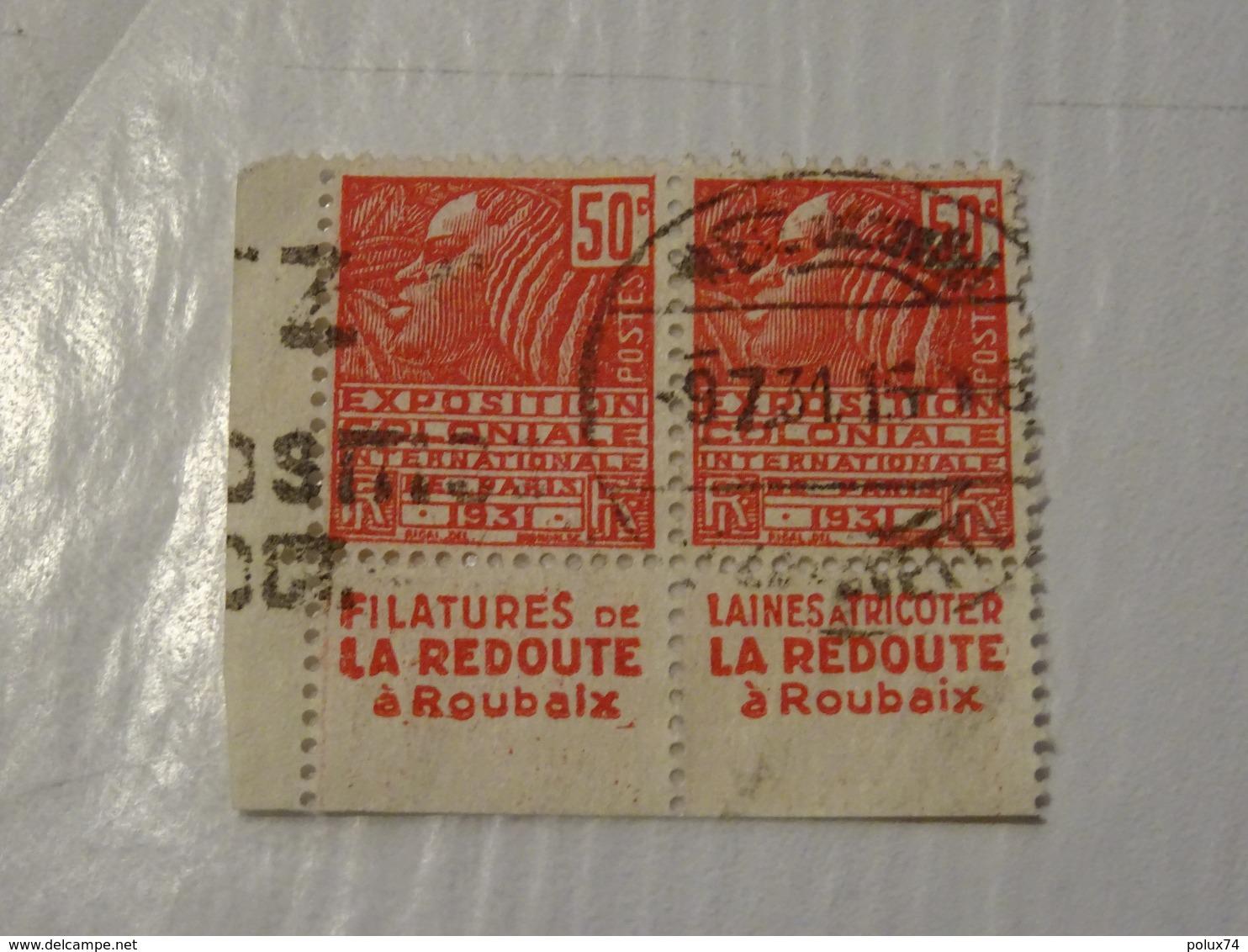FRANCE  Timbres Avec Publicitée 1931 - Carnets