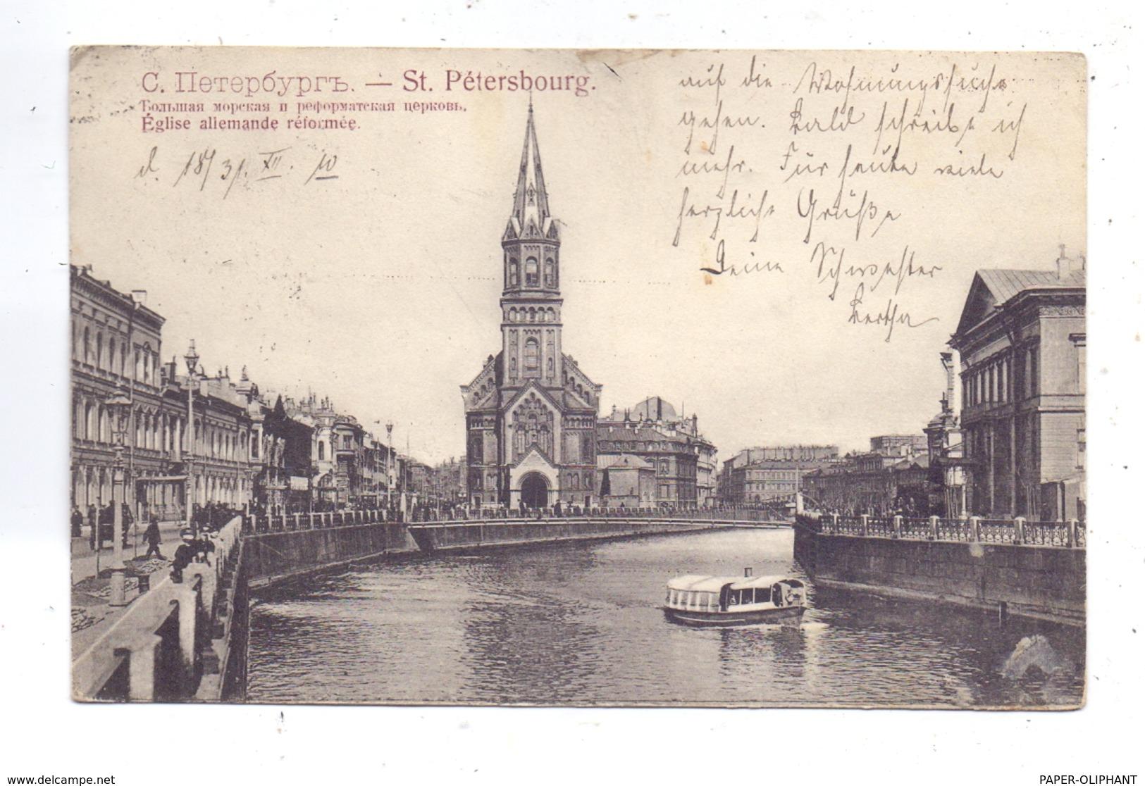 RU 190000 SANKT PETERSBURG, Deutsch Reformierte Kirche, 1910 - Russland