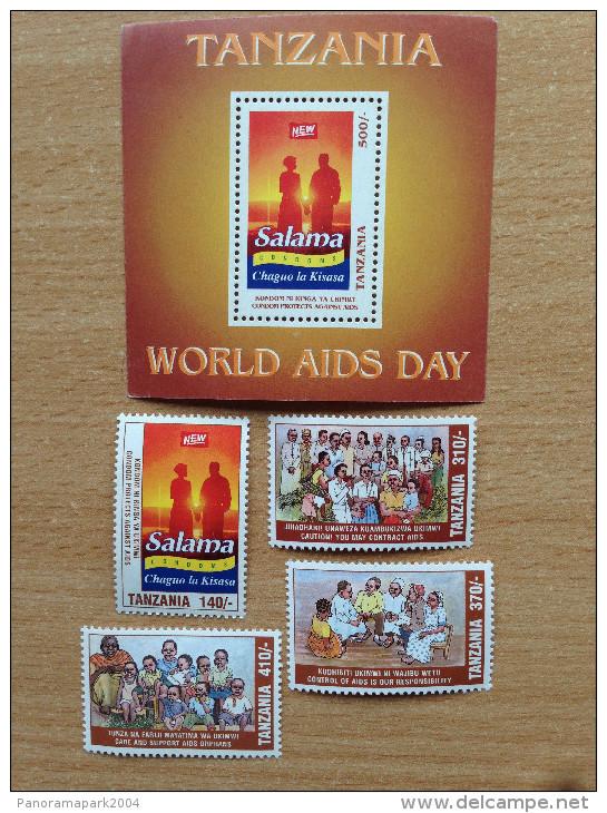 Tanzania 1995 Second 2nd East African Treaty Traité Afrique Uganda Kenya Ouganda  4 Stamps + 1 Souvenir Sheet MNH** - Tanzania (1964-...)