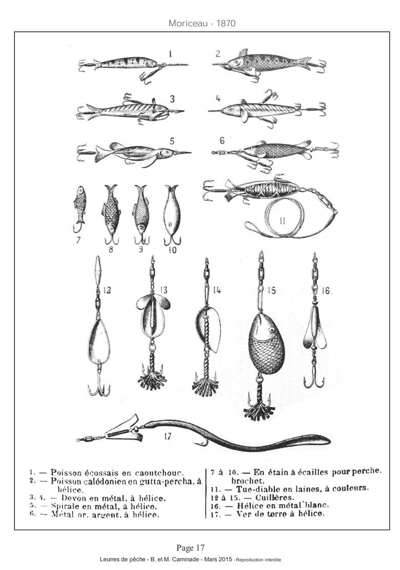 LIVRE-pour-collection-leurres-anciens-publicités-brevets-dates-de-sortie - Fishing