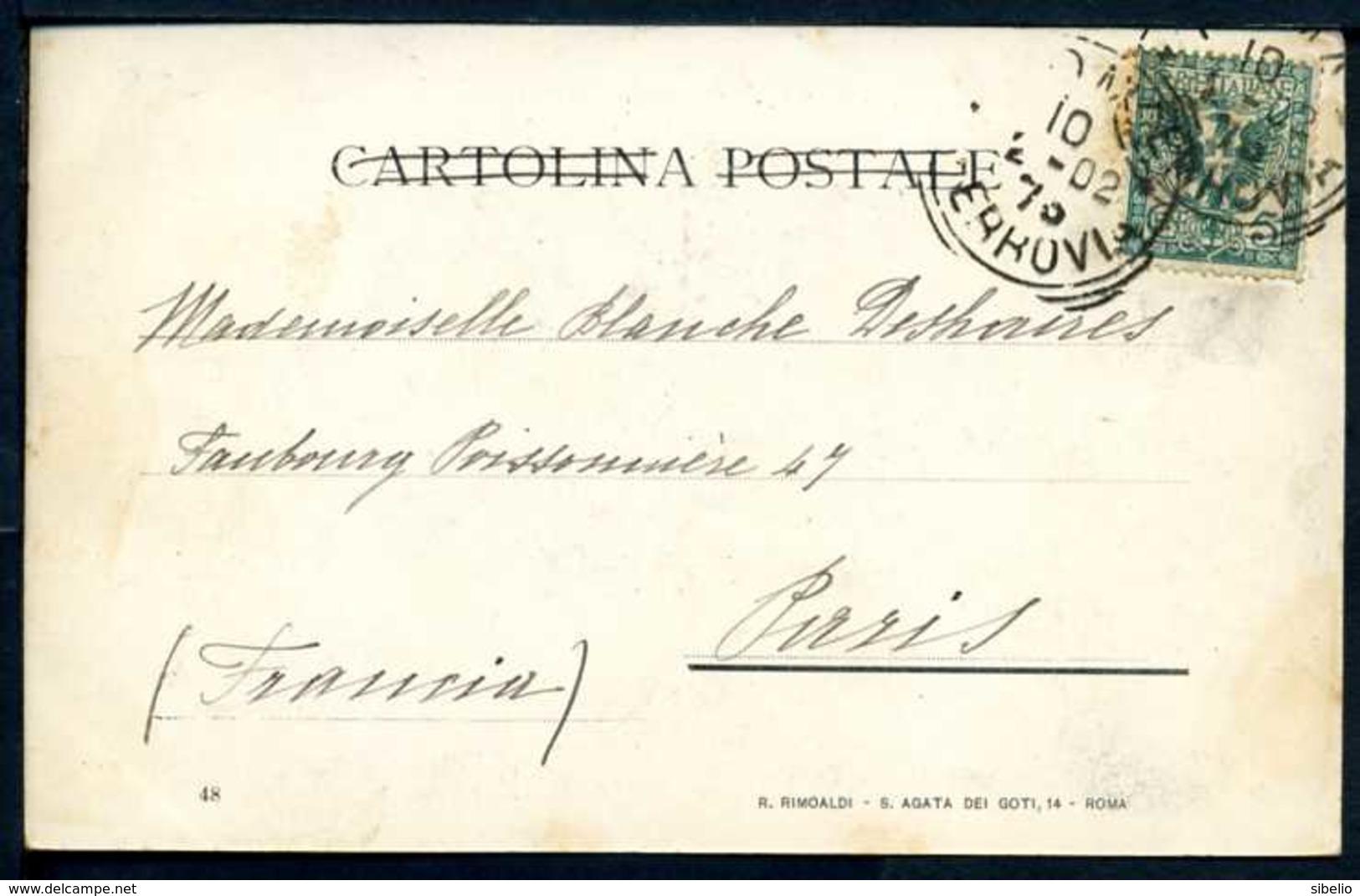 Gruppo Di Ciociari - Viaggiata 1902 - Rif. 03273 - Altre Città