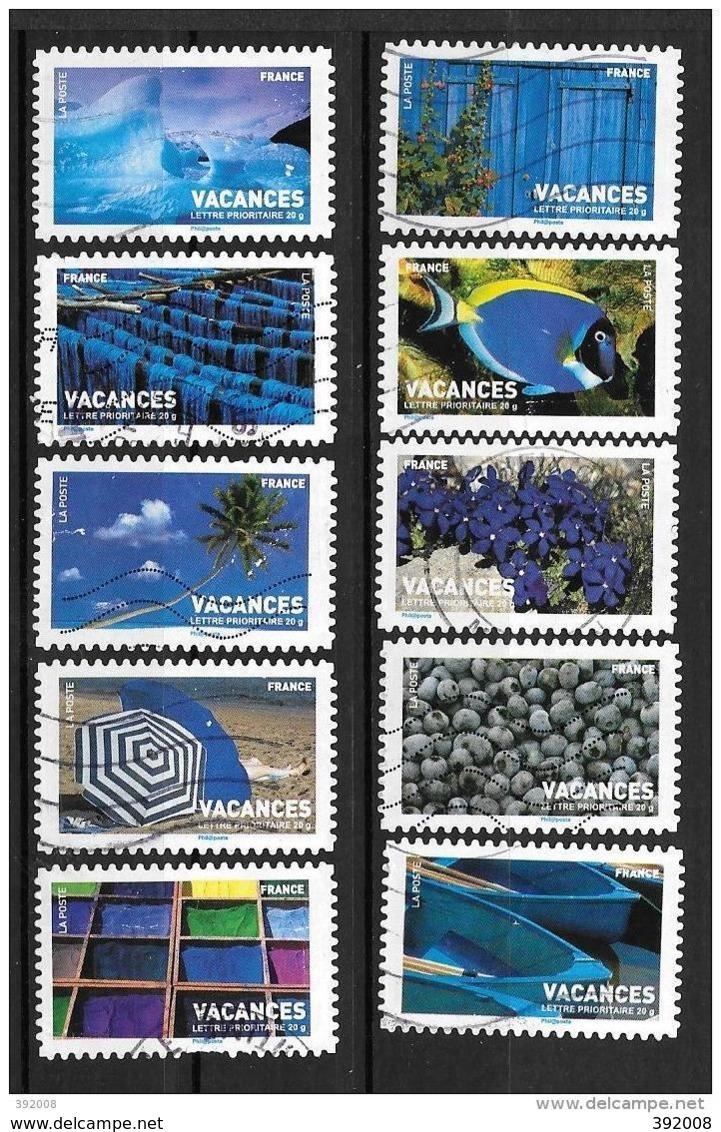 2007 - 13 - 118 à 127 - Vacances - France
