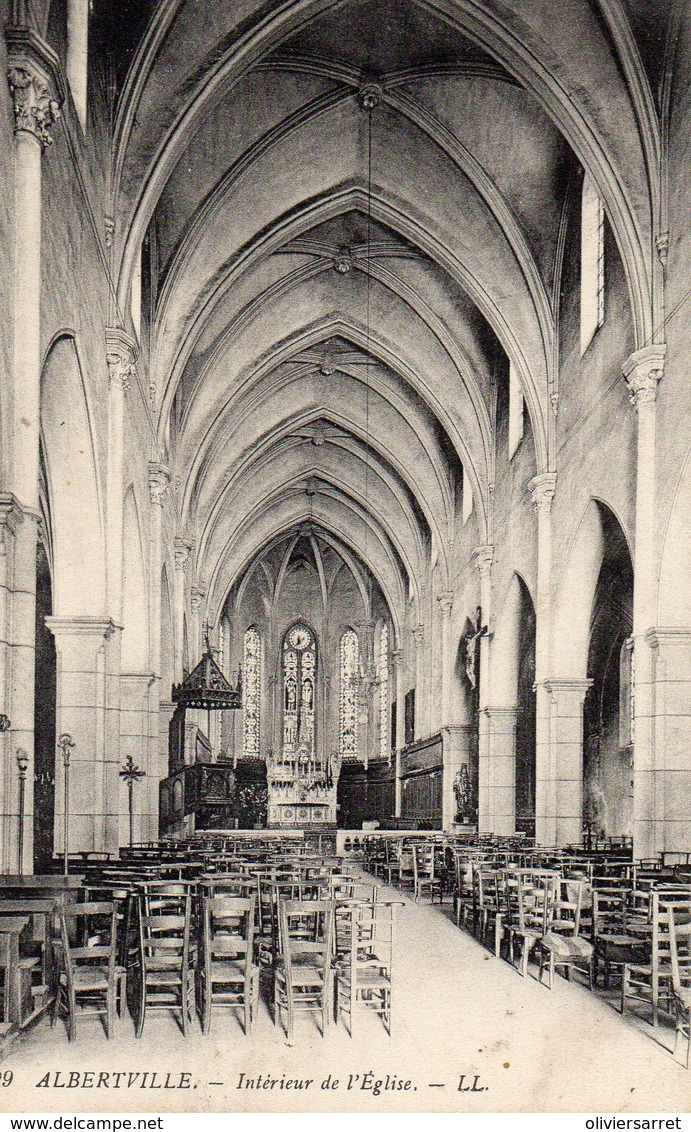 Albertville Interieur De L'église - Albertville
