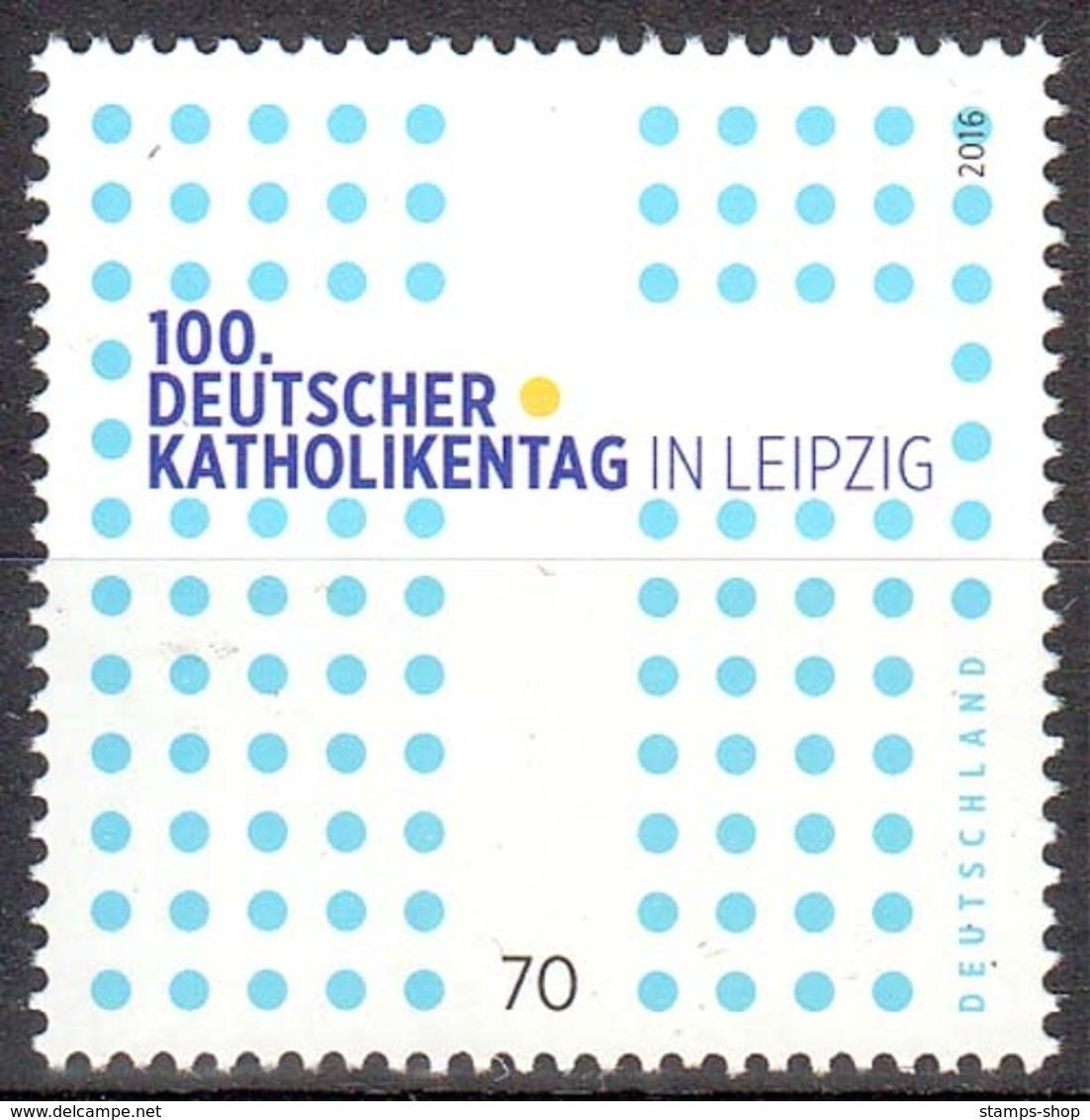 Bund MiNr. 3239 ** 100. Deutscher Katholikentag, Leipzig - [7] Repubblica Federale