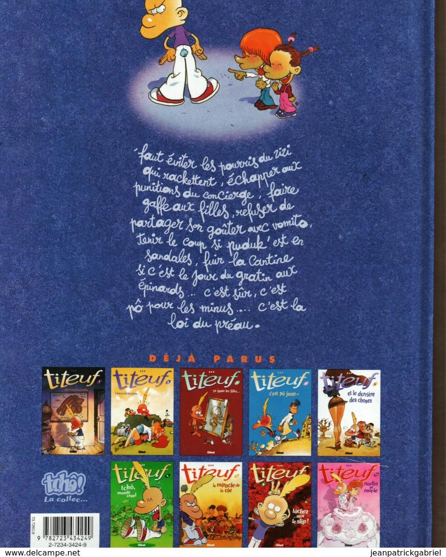 Titeuf La Loi Du Preau - Books, Magazines, Comics