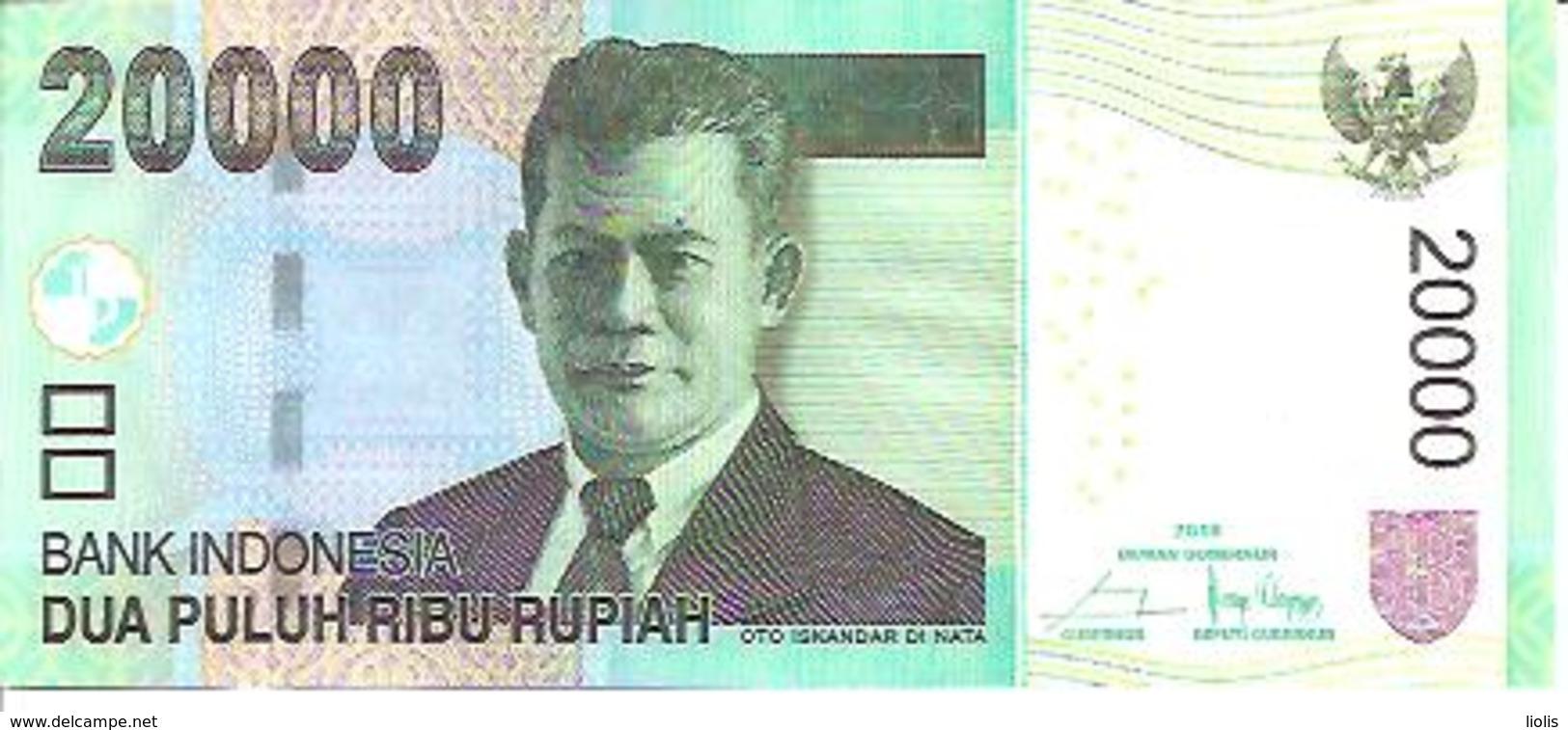 Indonesia    20000 Rupiah  2016 UNC - Indonésie