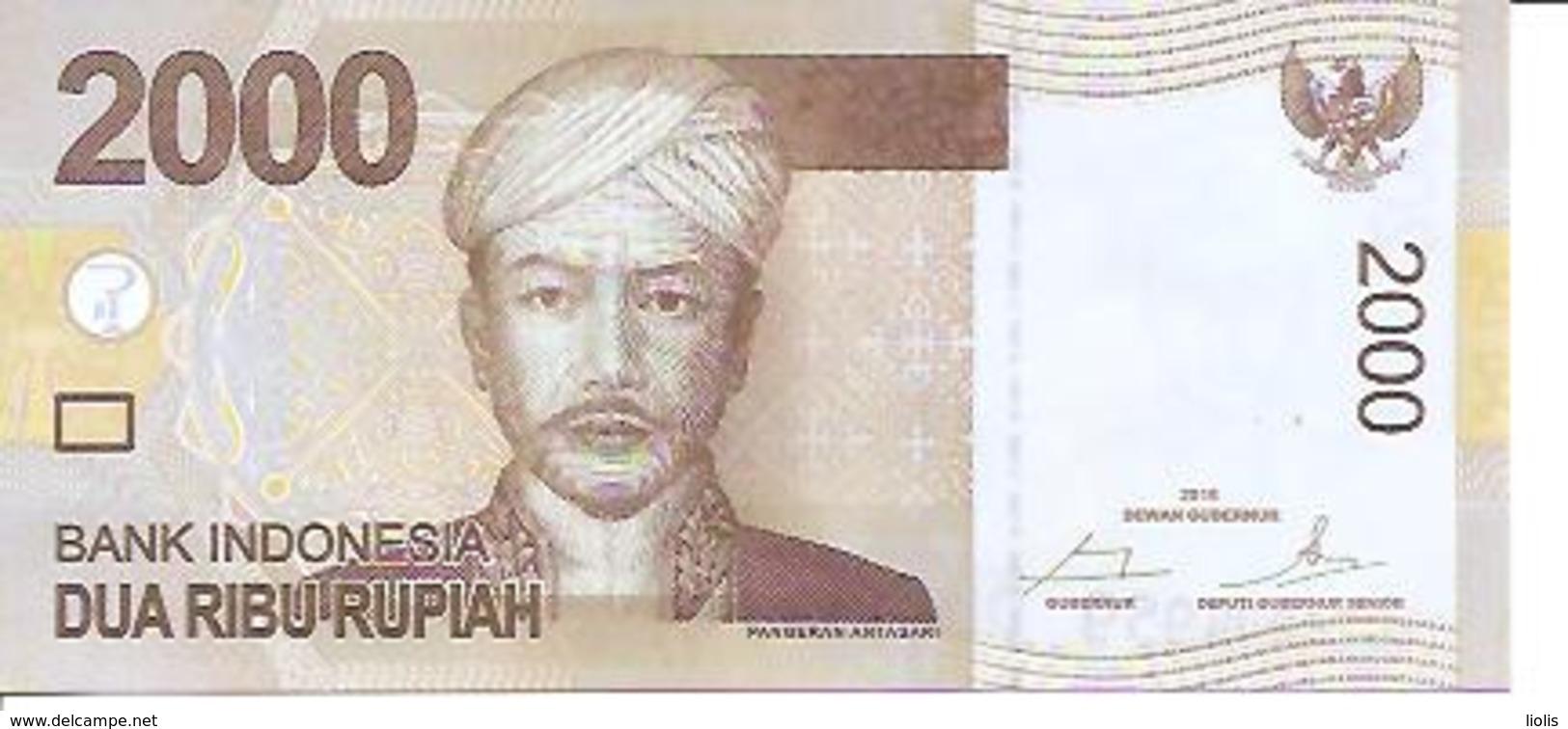 Indonesia    2000 Rupiah  2016 UNC - Indonésie