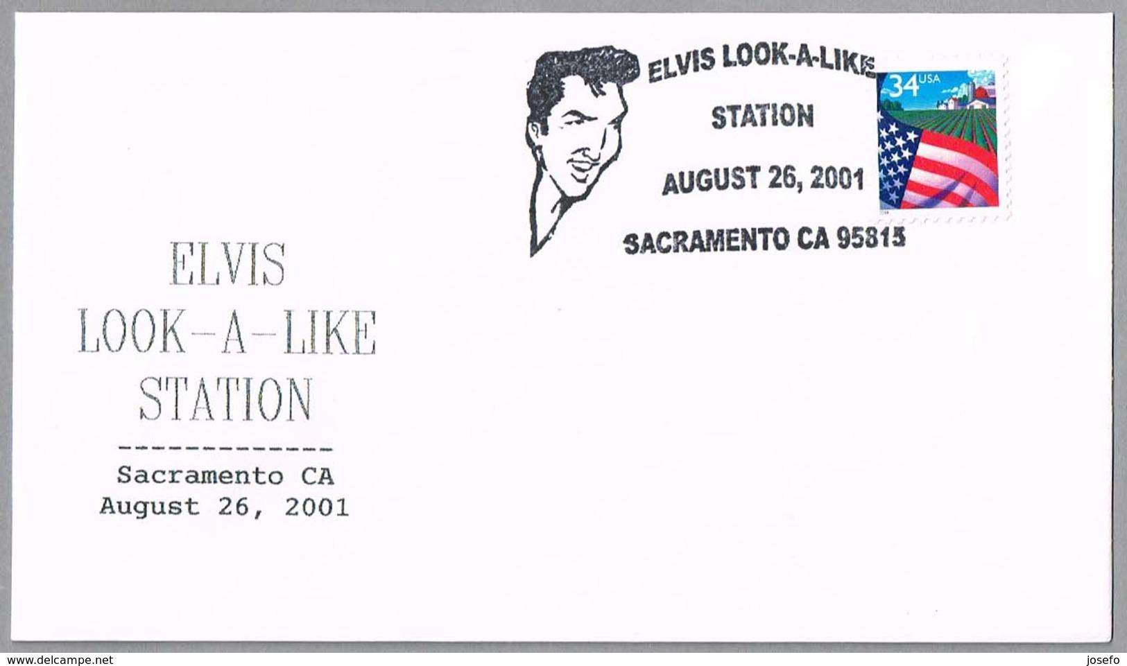 ELVIS PRESLEY. Sacramento CA, 2001 - Elvis Presley