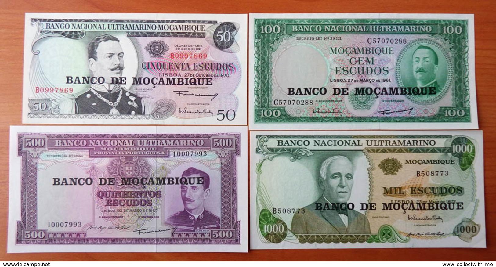 Mozambique Complete Set 1976 UNC - Mozambique