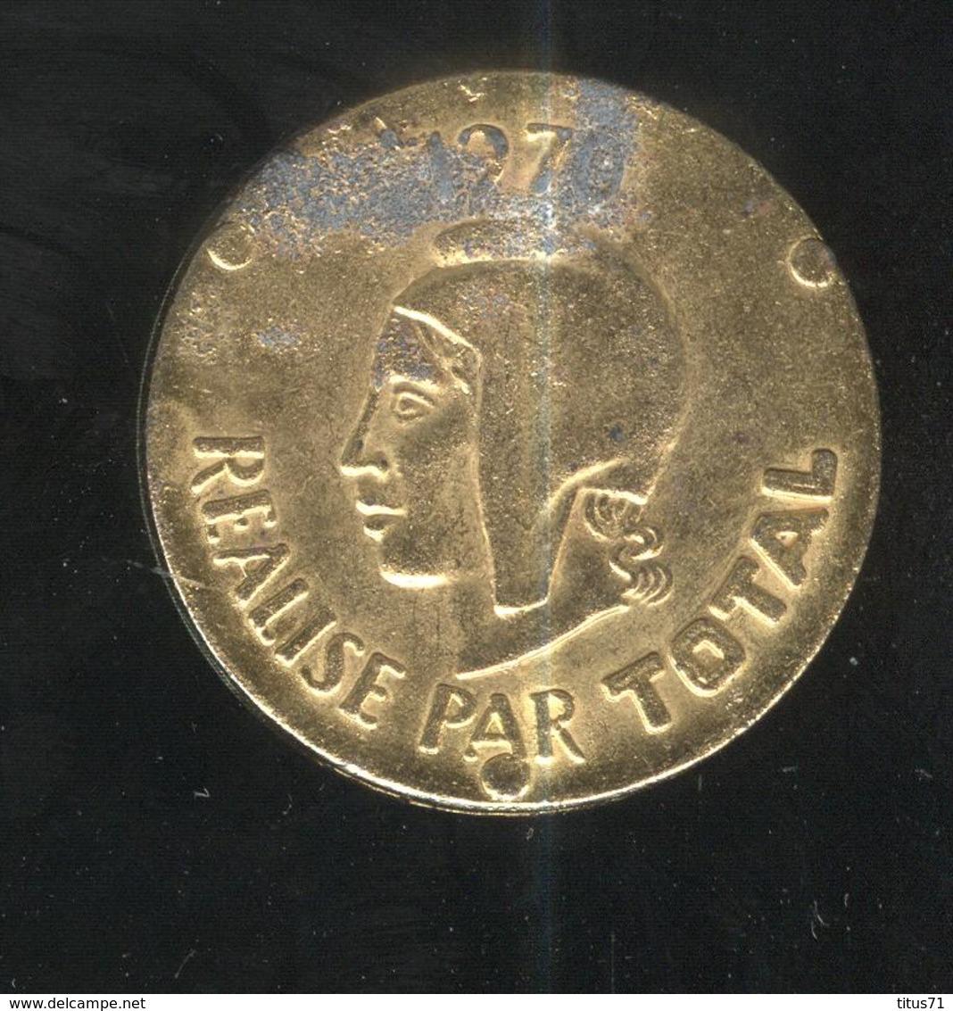 Jeton Total - Georges Clémenceau 1841-1929 - Professionnels / De Société