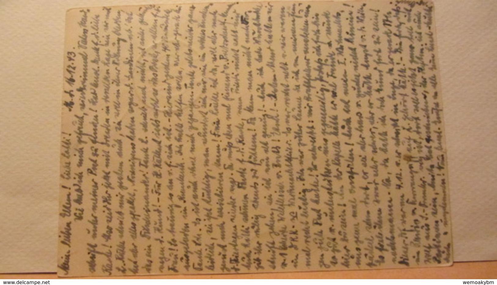 DR: GA  P 296 * Dt. Goldschmiedekunst 1943 Ritter Sankt Georgl Von Mügeln Nach Reinsbug Vom 17.12.43 - Deutschland