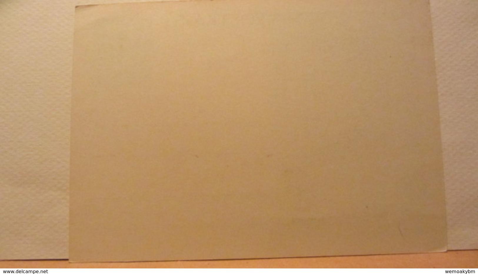 DR: GA  P 296 * Dt. Goldschmiedekunst 1943 Ritter Sankt Georgl - Ohne Anschrift Mit Undeutlichen Stpl. - Briefe U. Dokumente