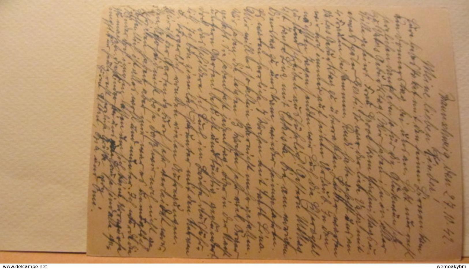 DR: GA  P 293 * Goldschmiedekunst Brautbecher Und Löwe Mit Bild Des Goldschmiedehauses Der Stadt Hanau A/M. Vom 27.10.42 - Briefe U. Dokumente