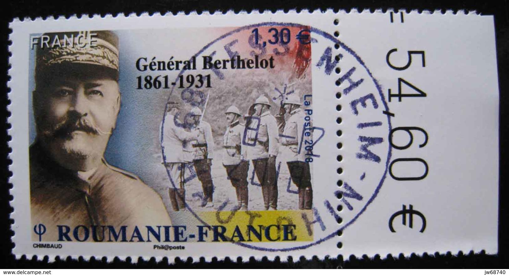 Timbre De France 2018  Roumanie France - Oblitéré - France