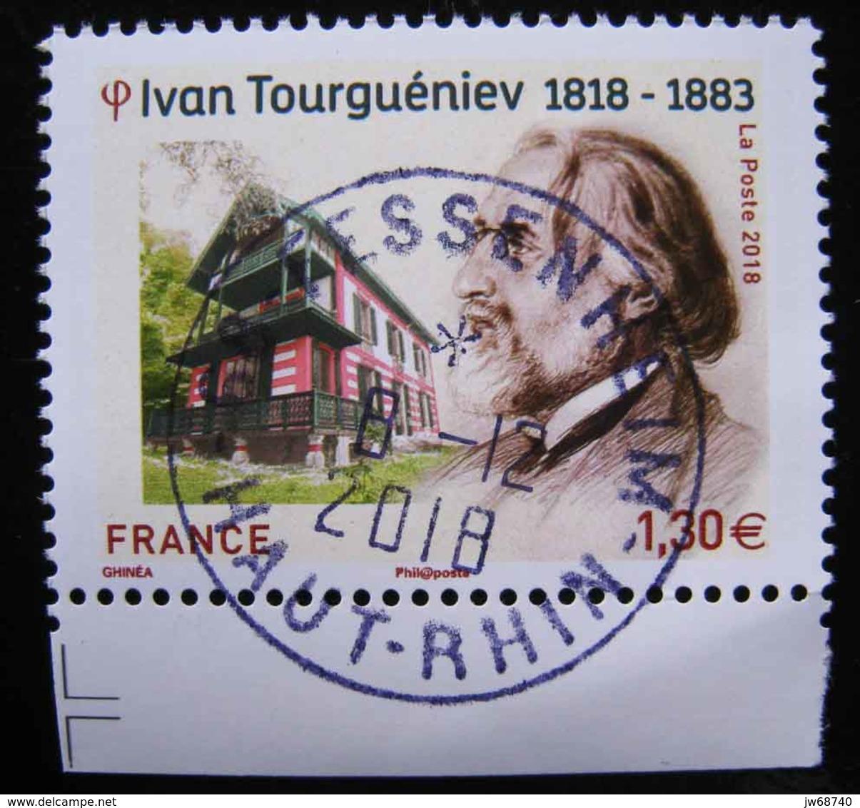 Timbre De France 2018  Tourguéniev - Oblitéré - France