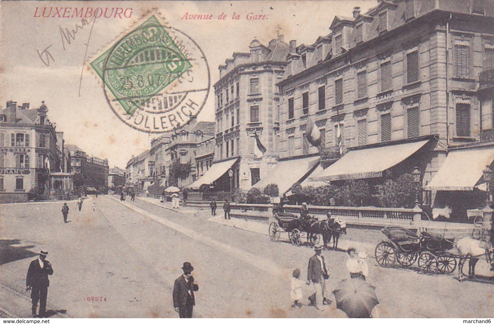 Luxembourg Letzeburg Avenue De La Gare N°108974 - Luxembourg - Ville