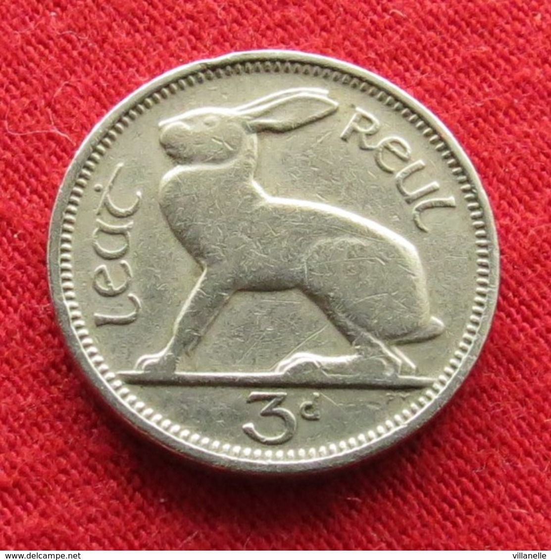 Ireland 3 Pence 1948 KM# 12a  Irlanda Irlande Ierland Eire - Irlande