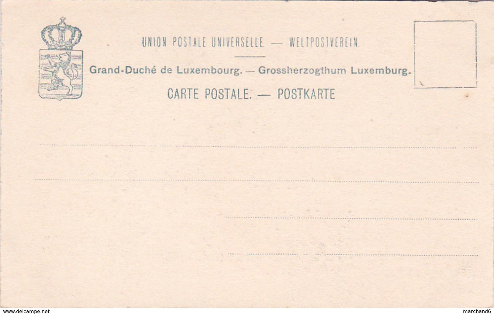 Luxembourg église De Clausen Et Rocher De Mansfeld éditeur Charles Bernhoeft N°263 - Luxembourg - Ville