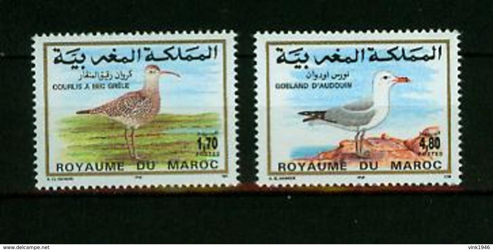 Maroc 1994,2V In Set ,birds,vogels,vögel,oiseaux,pajaros,uccelli,aves,MNH/Postfris(A3635) - Oiseaux