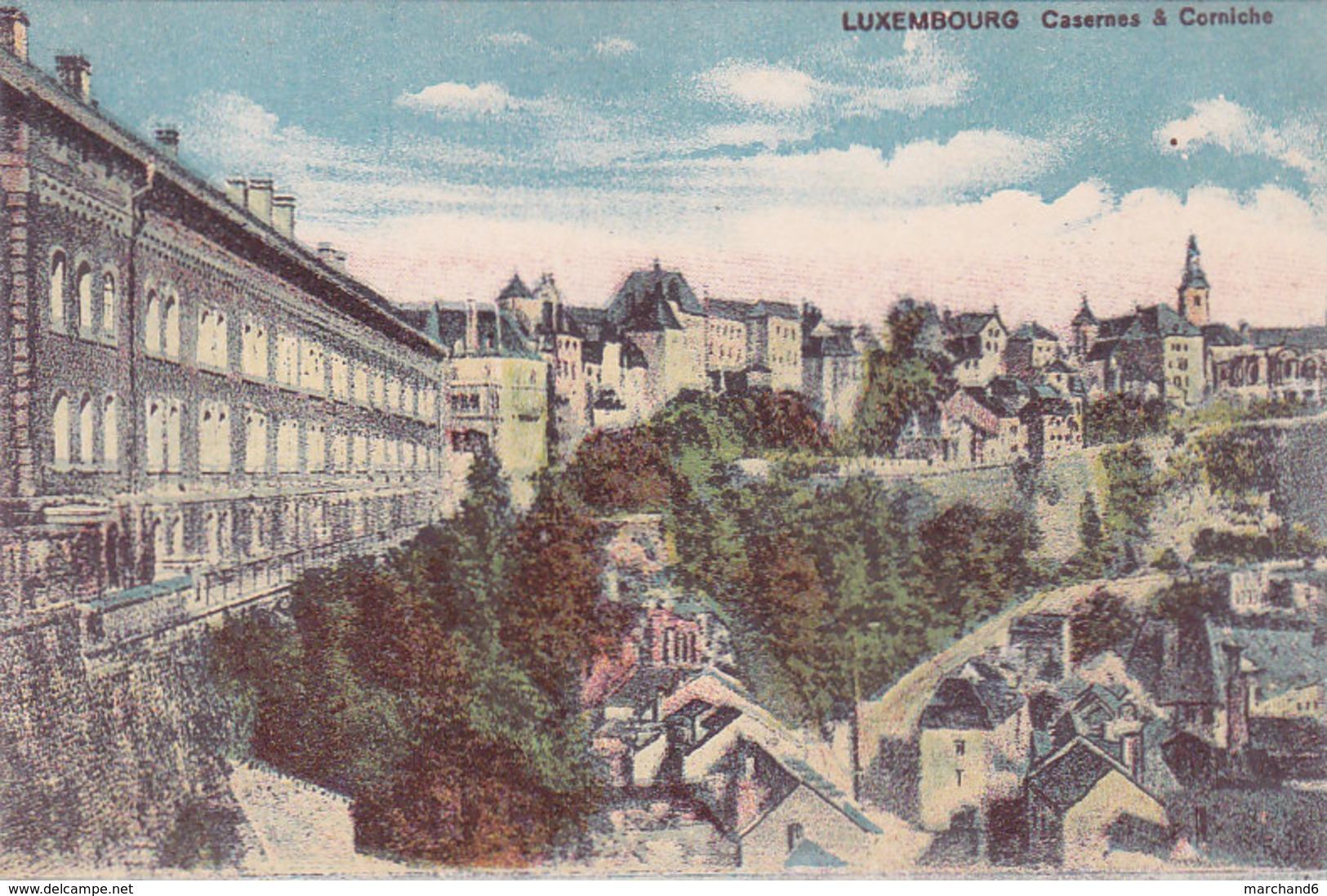 Luxembourg Casernes & Corniche éditeur Maison De Gros P Houstraas N°33 - Luxembourg - Ville
