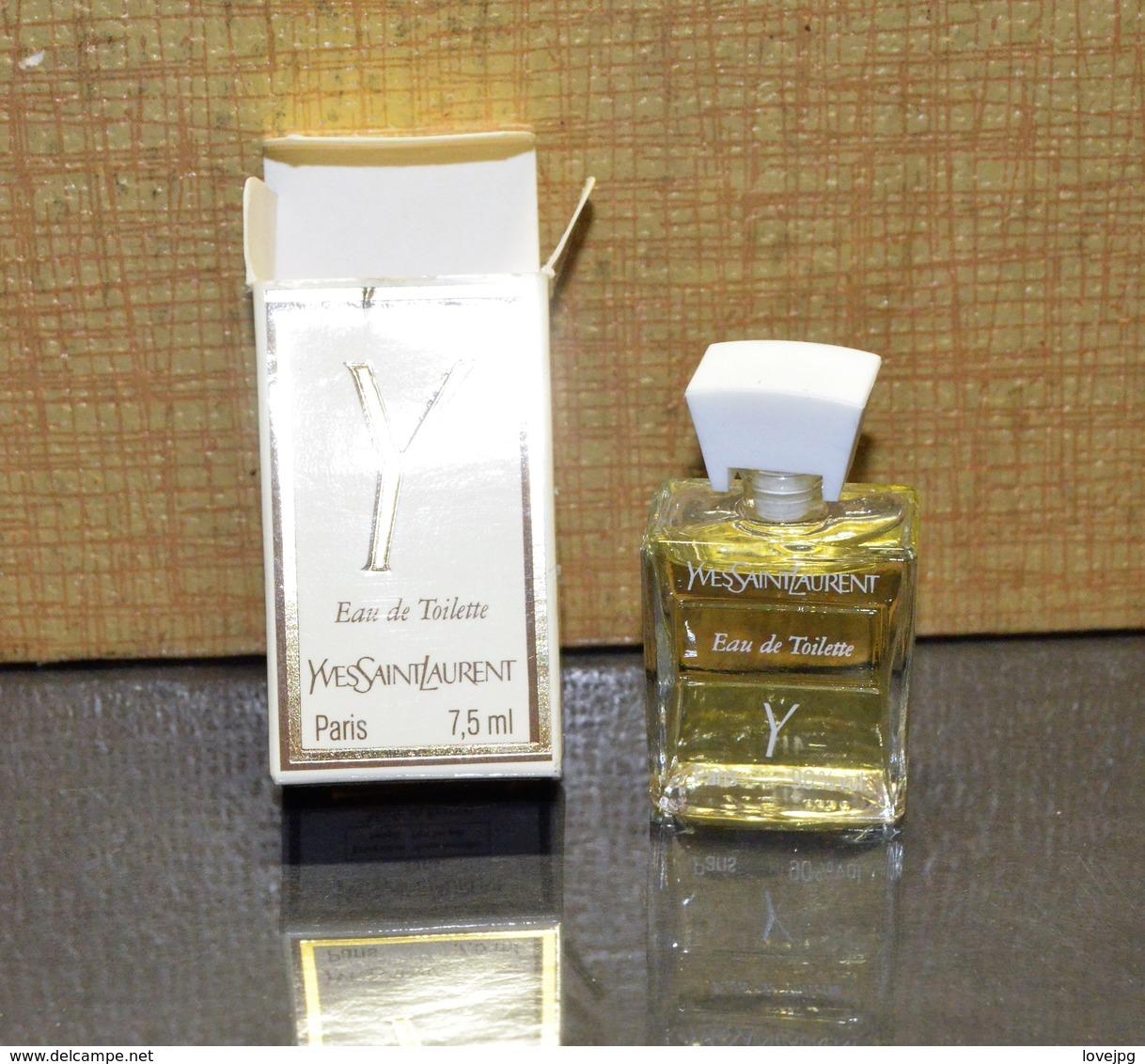 Miniature YVES SAINT LAURENT 7.5 ML - Miniatures Modernes (à Partir De 1961)