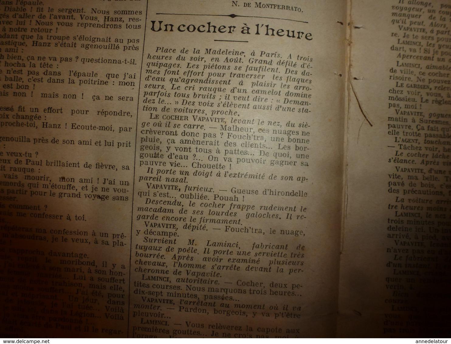 1908 LE PETIT JOURNAL: La Guillotine épouvante Les Malfaiteurs ;  Les Automobilistes Pris Au Lasso; Etc - Journaux - Quotidiens