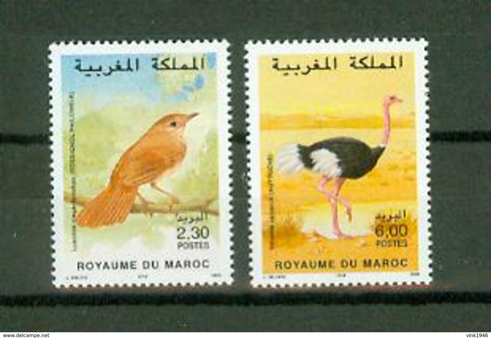 Maroc 1998,2V In Set ,birds,vogels,vögel,oiseaux,pajaros,uccelli,aves,MNH/Postfris(A3638) - Oiseaux