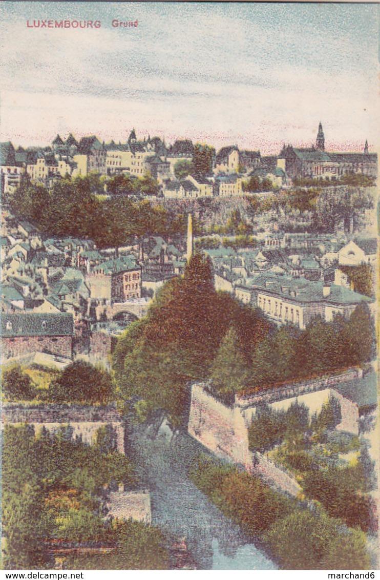 Luxembourg Grund éditeur Maison De Gros P Houstraas N°53 - Luxembourg - Ville