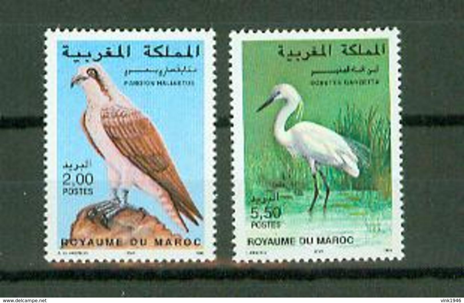 Maroc 1996,2V In Set ,birds,vogels,vögel,oiseaux,pajaros,uccelli,aves,MNH/Postfris(A3640) - Oiseaux