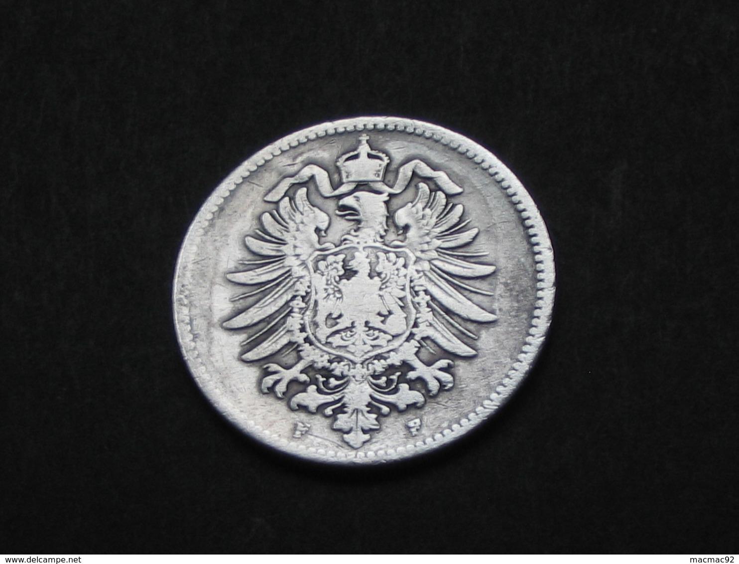 RARE !!!!!    1 Mark 1880 F - Germany  - ALLEMAGNE - Deutsches Reich    **** EN ACHAT IMMEDIAT ***** - [ 2] 1871-1918: Deutsches Kaiserreich