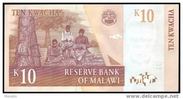 Malawi #new, 10 Kwacha, 2004, UNC / NEUF - Malawi