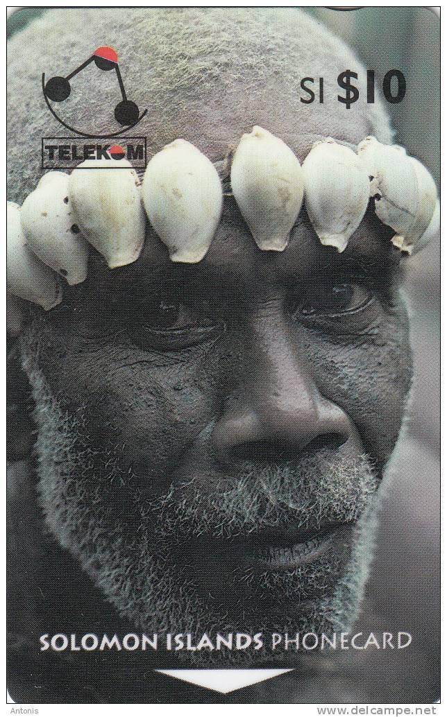 SOLOMON ISL.(GPT) - Man From Turarana, Sample(no CN) - Isole Salomon