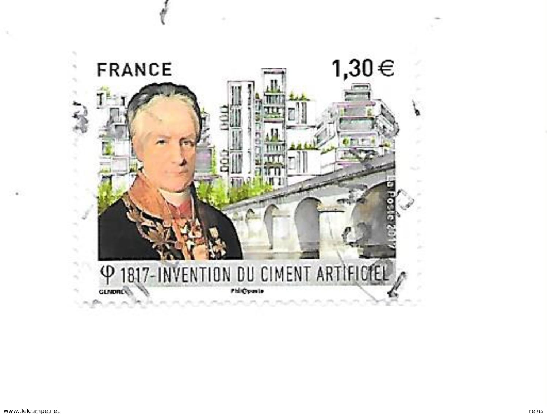 Bicentenaire Dev L'invention Du Ciment Artificiel 5153 Oblitéré - France