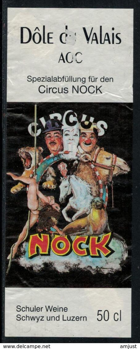 Rare // Etiquette De Vin // Cirque // Dôle, Cirque Nock - Etiquettes