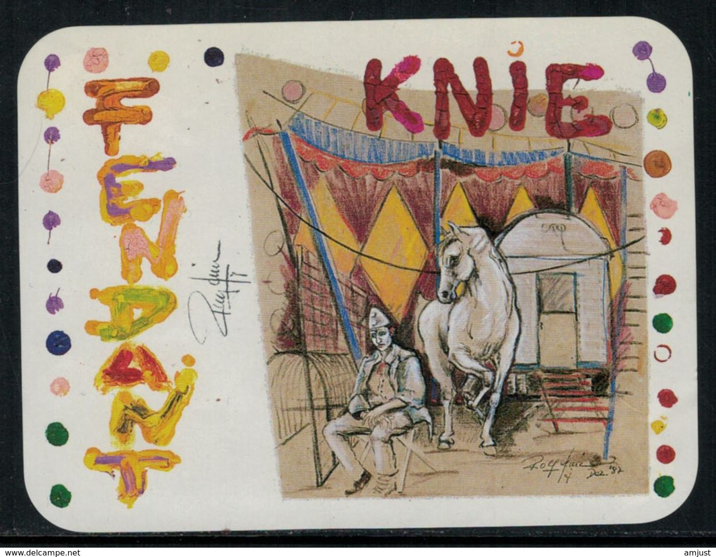 Rare // Etiquette De Vin // Cirque // Fendant, Cirque Knie - Etiquettes