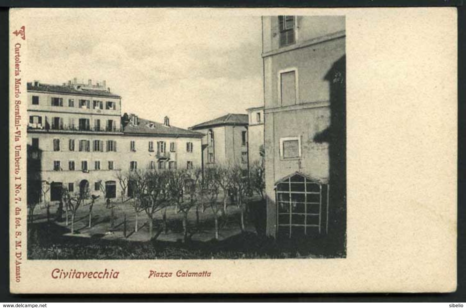 Civitavecchia - Piazza Calamatta - Non Viaggiata - Rif. 02666 - Altre Città