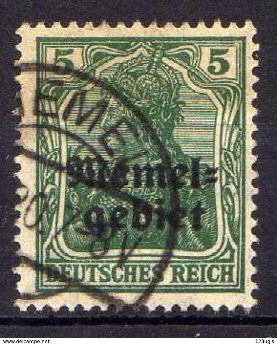Memel 1920 Mi 1, Gestempelt [120119XXII] - Memelgebiet